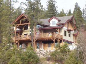 home builder in Sandpoint Idaho area builders Dan Fogarty Great Northern Builder