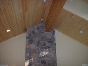 custom home craftsman house interior stone Dan Fogarty Great Northern Builder