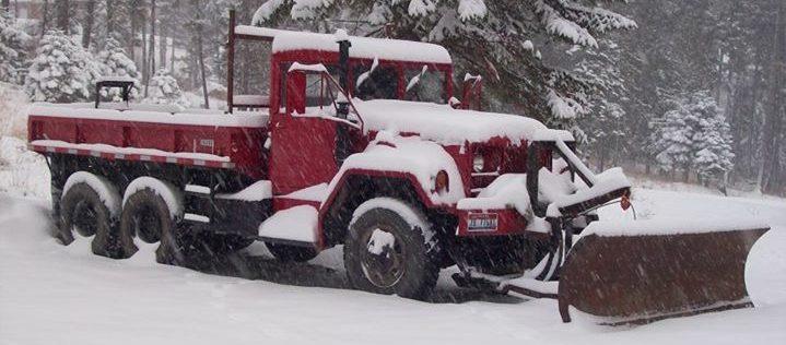Emergency Snowplowing