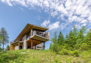 north Idaho modern home photographer Andrew Van Leeuwen of Build LLC