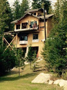 Mountain Retreat Front